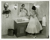 view Bathrooms and vanitories, 1950s digital asset: Bathrooms and vanitories, 1950s