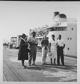 view [Ella Fitzgerald in Panama : photoprint] digital asset: [Ella Fitzgerald in Panama : photoprint, ca. 1955.]
