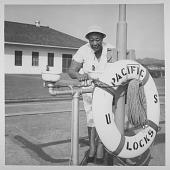 view [Ella Fitzgerald in Panama: photograph] digital asset: [Ella Fitzgerald in Panama: photograph, ca. 1955.]