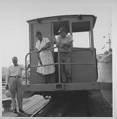 view [Ella Fitzgerald in Panama: photoprint] digital asset: [Ella Fitzgerald in Panama: photoprint, ca. 1955.]