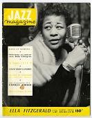 view Jazz Magazine, No. 28, June 1957 [magazine] digital asset: Jazz Magazine, No. 28, June 1957 [magazine].