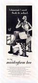 "view Maidenform Advertisement: ""I dreamed I went back to school in my maidenform bra."" 1955 digital asset: Maidenform Advertisement: ""I dreamed I went back to school in my maidenform bra."" 1955"