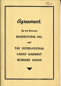 """view """"Agreement by and between Maidenform, Inc. and The International Ladies' Garment Workers' Union"""" digital asset: """"Agreement by and between Maidenform, Inc. and The International Ladies' Garment Workers' Union"""""""
