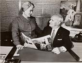 view Ida and William Rosenthal 1956 digital asset: Ida and William Rosenthal 1956