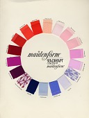 view Maidenform Sea Dream collection swatch card digital asset: Maidenform Sea Dream collection swatch card
