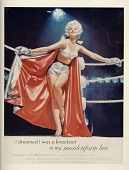 view I dreamed I was a knockout / in my maidenform bra [color advertisement] digital asset: I dreamed I was a knockout / in my maidenform bra [color advertisement].