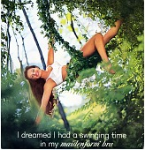 "view I dreamed I had a swinging time / in my maidenform [sic] bra [color advertisement], 1963 digital asset: ""I Dreamed I had a Swinging Time in My Maidenform Bra"""