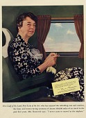 view First Lady of the Land, First Lady of the Air [color advertisement] digital asset: First Lady of the Land, First Lady of the Air [color advertisement].