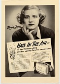 view Hats In The Air-- [Print advertising.] digital asset: Hats In The Air-- [Print advertising.]