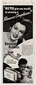 view Will you give one month to winning a Romance Complexion? [Print advertising.] digital asset: Will you give one month to winning a Romance Complexion? [Print advertising.]