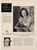 view The Duchess of Sutherland. [Print advertising.] digital asset: The Duchess of Sutherland. [Print advertising.] 1948