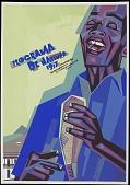 view Programa de Navidad 1977 [screen print poster] digital asset: Programa de Navidad 1977 [screen print poster].