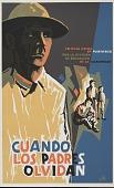 view Cuando los Padres Olvidan [screen print poster] digital asset: Cuando los Padres Olvidan [screen print poster].