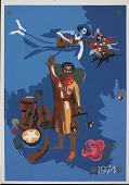 view 1974 [screen print poster] digital asset: 1974 [screen print poster].