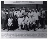 view BROTHERS -- FIFTY YEARS OR MORE / OMEGA PSI PHI / JUNE 6, 1991. [Black-and-white photoprint.] digital asset: BROTHERS -- FIFTY YEARS OR MORE / OMEGA PSI PHI / JUNE 6, 1991. [Black-and-white photoprint.]
