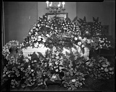 view [Casket with flowers] [cellulose acetate photonegative] digital asset: [Casket with flowers] [cellulose acetate photonegative].