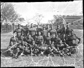 view [Howard University football team, 1934 [cellulose acetate photonegative] digital asset: [Howard University football team, 1934 [cellulose acetate photonegative].