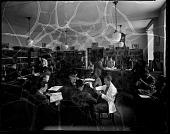 view [Howard University Medical Library] [cellulose acetate photonegative] digital asset: Medical library [1942] [cellulose acetate photonegative].