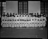 view Mid-Year Class 1942, Cardozo High School [titled on negative]. [cellulose acetate photonegative] digital asset: Mid-Year Class of 1942, Cardozo High School [cellulose acetate photonegative].