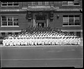 view [Cardozo High School Graduating Class, 1941] [cellulose acetate photonegative] digital asset: Cardozo High [School], 1941 [cellulose acetate photonegative].
