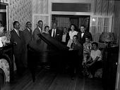 view [Duke Ellington at party : cellulose acetate photonegative.] digital asset: [Duke Ellington at party : cellulose acetate photonegative.]