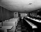 view Hollywood Tavern [upstairs] [black-and-white cellulose acetate photonegative] digital asset: Hollywood Tavern [upstairs] [black-and-white cellulose acetate photonegative].