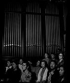 view Howard University Choir [cellulose acetate photonegative] digital asset: Howard University Choir [cellulose acetate photonegative].