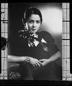 view Lillian Evans Tibbs (Evanti) [copy negatiove] [cellulose acetate photonegative] digital asset: Lillian Evans Tibbs (Evanti) [copy negatiove] [cellulose acetate photonegative].