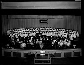 view Cardozo High School Orchestra and Chorus May 17, 1954 [cellulose acetate photonegative] digital asset: Cardozo High School Orchestra and Chorus May 17, 1954 [cellulose acetate photonegative].