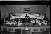 view Cardozo High School Orchestra and Glee Club, June, 1955 [cellulose acetate photonegative] digital asset: Cardozo High School Orchestra and Glee Club, June, 1955 [cellulose acetate photonegative].