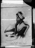 view [Phillis Wheatley : copy of engraving : glass plate photonegative] digital asset: [Phillis Wheatley : copy of engraving : glass plate photonegative].