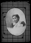 view Mrs Louise Hayes [cellulose acetate photonegative] digital asset: Mrs Louise Hayes [cellulose acetate photonegative].