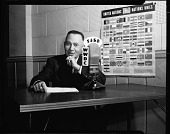 view Dr. Rayford [Whittingham] Logan, Oct[ober] 1948 [cellulose acetate photonegative] digital asset: Dr. Rayford [Whittingham] Logan, Oct[ober] 1948 [cellulose acetate photonegative].