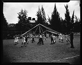 view Miss Anna Jackson's May Day, 1942 [cellulose acetate photonegative] digital asset: Miss Anna Jackson's May Day, 1942 [cellulose acetate photonegative].