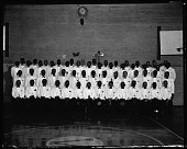 view June 1959 Armstrong Veterans High School Center, Class of [19]59, [cellulose acetate photonegative] digital asset: June 1959 Armstrong Veterans High School Center, Class of [19]59, [cellulose acetate photonegative].