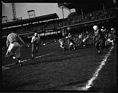 view Howard-Lincoln [football] game [at Griffith Stadium], Nov[ember] 1948 [cellulose acetate photonegative] digital asset: Howard-Lincoln [football] game [at Griffith Stadium], Nov[ember] 1948 [cellulose acetate photonegative].