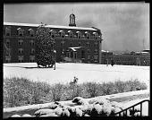 view [Howard University building in the snow : cellulose acetate photonegative] digital asset: [Howard University building in the snow : cellulose acetate photonegative].