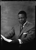 view Mr. Joseph W. Garber [Attorney General, Embassy of Liberia, November 29, 1958 : cellulose acetate photonegative] digital asset: Mr. Joseph W. Garber [Attorney General, Embassy of Liberia, November 29, 1958 : cellulose acetate photonegative].
