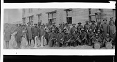 view 370th Infantry Band [ca. 1930 : cellulose acetate photonegative, banquet camera format] digital asset: 370th Infantry Band [ca. 1930 : cellulose acetate photonegative, banquet camera format].