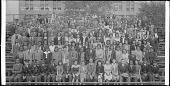 view June Class of 1941 Armstrong High School [cellulose acetate photonegative, banquet camera format] digital asset: June Class of 1941 Armstrong High School [cellulose acetate photonegative, banquet camera format].