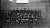 view [St Paul Normal and Industrial School football team, 1933 : cellulose acetate photonegative, banquet camera format] digital asset: [St Paul Normal and Industrial School football team, 1933 : cellulose acetate photonegative, banquet camera format].