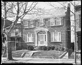 view Mr. John Rhine's Home, 1938 [exterior of house : cellulose acetate photonegative] digital asset: Mr. John Rhine's Home, 1938 [exterior of house : cellulose acetate photonegative].