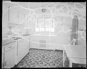 view Mr. John Rhine's Home, 1938 [interior of kitchen : cellulose acetate photonegative] digital asset: Mr. John Rhine's Home, 1938 [interior of kitchen : cellulose acetate photonegative].