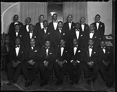 view Synthic Male Chorus, 1938 [cellulose acetate photonegative] digital asset: Synthic Male Chorus, 1938 [cellulose acetate photonegative].