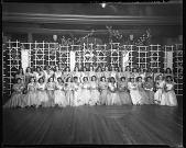 view Bachelor's Debutante Dance, 1942 [cellulose acetate photonegative] digital asset: Bachelor's Debutante Dance, 1942 [cellulose acetate photonegative].