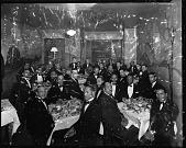 view R.F.C. [Reconstruction Finance Corporation Athletics Club first anniversary] Banquet, 1939 [cellulose acetate photonegative] digital asset: R.F.C. [Reconstruction Finance Corporation Athletics Club first anniversary] Banquet, 1939 [cellulose acetate photonegative].