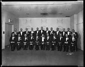 view Washington, D.C. Chapter of the National Guardsmen, Inc., 1964 [cellulose acetate photonegative] digital asset: Washington, D.C. Chapter of the National Guardsmen, Inc., 1964 [cellulose acetate photonegative].