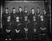 view James Reese Europe Post, American Legion [group of members : cellulose acetate photonegative] digital asset: James Reese Europe Post, American Legion [group of members : cellulose acetate photonegative].