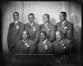 view The Sandy Spring Melody Singers [November 6, 1945] [cellulose acetate photonegative] digital asset: The Sandy Spring Melody Singers [November 6, 1945] [cellulose acetate photonegative].