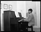 view Goins Music School [Music Arts Studio] Group, Feb. 1960 [cellulose acetate photonegative] digital asset: Goins Music School [Music Arts Studio] Group, Feb. 1960 [cellulose acetate photonegative].